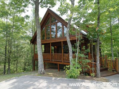 Photo for Smoky Mountain Cabin Beary Secluded 296