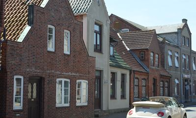 Photo for North Sea vacation right before SPO; 6-8 people, large garden apartment skipper -