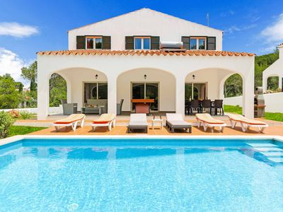 Photo for Villa Addaia - detached villa with private pool close to beach - with Wi-Fi & AC