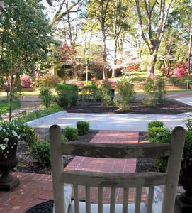 Spring Porch View