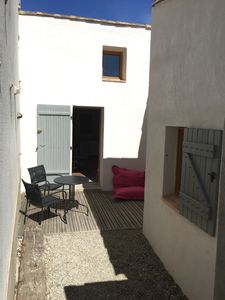 Photo for Guest House below castle with private courtyard, garden and parking.