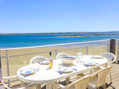Photo for Apartment Laguna Beach in Gruissan - 7 persons, 3 bedrooms