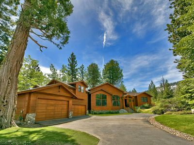 Photo for 3BR w/Expansive Deck, Personal Gym, Pool Table & 4 Fireplaces – XL Wooded Lot
