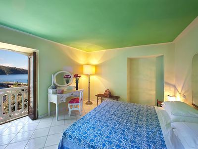 Photo for Family-Friendly, Near the Beach, Sea View Apartment, Central Location