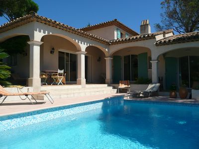 Photo for Provencal villa with pool for 8 people
