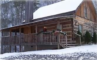 Stay in a true and traditional Smoky Mountain Log Cabin