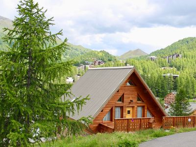 Photo for VARS LES CLAUX - CHARMING CHALET AT THE FOOT OF TRACKS