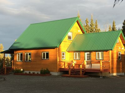 Photo for Kenai River Waterfront - Over 350 feet of private shoreline fishing.