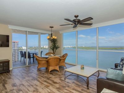 Photo for Stunning 12th Floor Views! Luxuriously Appointed Condo! Lovely Pool & Hot Tub, Free Parking & WiFi!