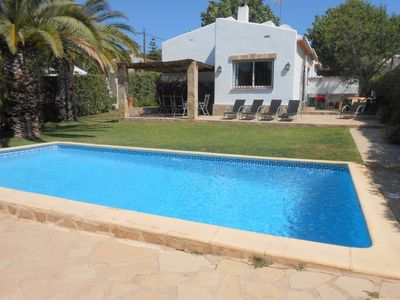 Photo for Fantastic 3 Bed Family Villa with Private Pool, Garden, Air con and Free WiFi