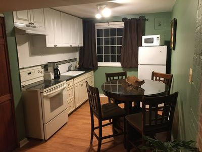 Photo for 2 bedroom 1 bathroom private basement apartment.luminous 15 min from dc.