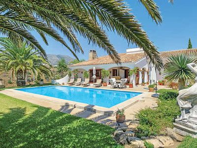 Photo for Villa w/ private gardens and stunning golf course and mountain views