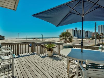 Photo for PERFECT Location! Beach views from EVERY room! Closest to Hangout Musicfest!