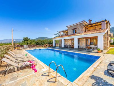 Photo for Dream Palace- This large detached Villa has a private pool, WI-FI & table tennis