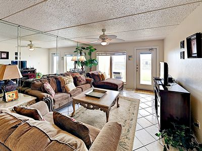 Photo for 2BR w/ Oceanview Deck, Pool, Hot Tub, Steps to Private Beach Suntide II