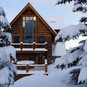 Photo for *STORYBOOK ALPINE HOME* walk from lift, relax in hot tub, curl up by wood fire