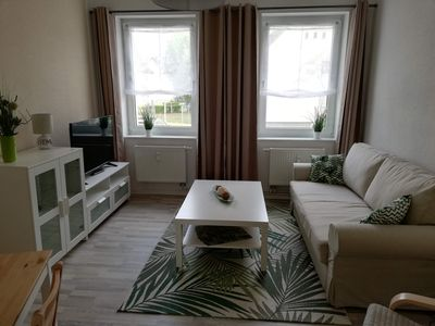 Photo for Holiday flat on the Plauer Wendsee on the ground floor