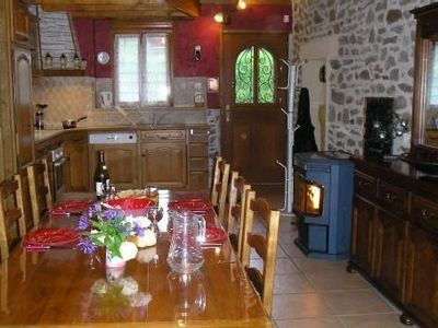 Photo for Gîte Les Sources de l'Etang, opposite the fishing pond, with wifi