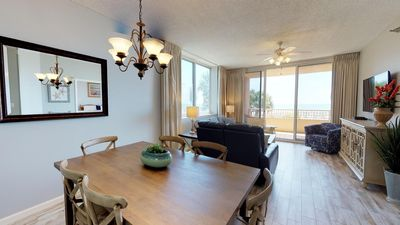 Large Balcony with Gulf View, Get all the Beach Club Perks! Don't Miss Out! Doral 201