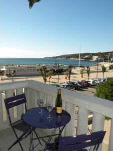Photo for Comfortable apartment, sea view and port of Cassis, 2 bedrooms, sleeps 6