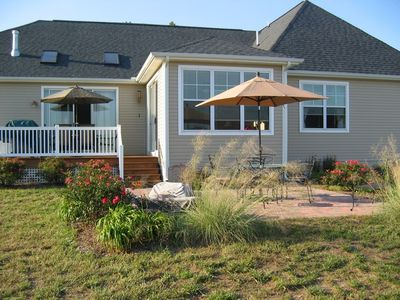 Rear Deck and Patio