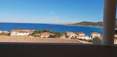 Photo for F4, exceptional sea view, 300m from Algajola beach