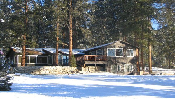rentals colorado feather mountain log cabins acres cabin friendly home resort in fox lakes pet red