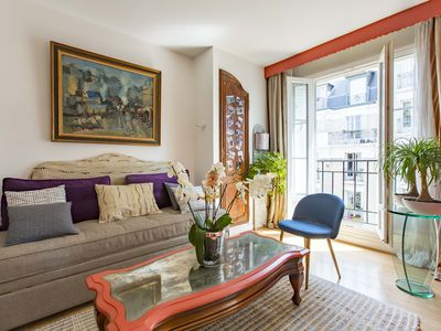 Photo for Ideal 1BR in authentic Montmartre with amazing Sacre Coeur views, by Veeve