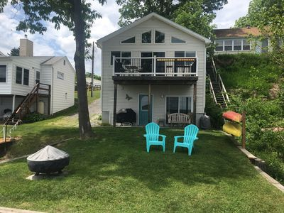 Photo for Perfect 5 Star Lakefront Cottage with Dock and Boat Lift