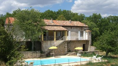 Photo for Salavas Vallon Pont D Arc: Wild, quiet nature and tranquility, swimming pool, chimney...