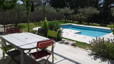 Photo for Single storey house of 110m ² with ground-swimming pool