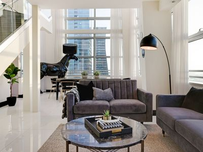 Photo for Sextant's Conrad Brickell Penthouse -- 3 bedrooms, 10 mins to South Beach