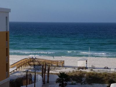 Photo for High in the sky!!Hear/See the Waves/Top6thFloorWaterscpe/LazyRiver/Pools/XBOX360