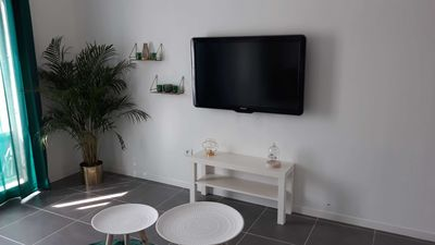 Photo for Nice new holiday studio of 33 m² with terrace located 10 minutes from the sea.