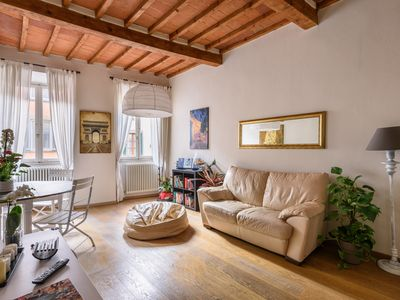 Photo for Apartment in the old town with 2 bedrooms, 2 bathroom and a large terrace