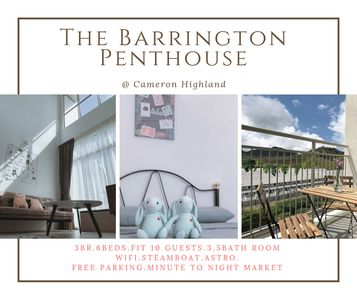 Photo for 3BR The Barrington Penthouse@Cameron★ Night Market