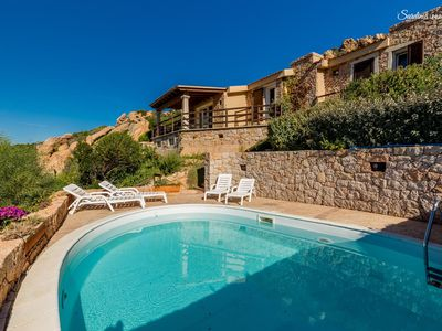 Photo for Villa De Elisee: private pool & seaview