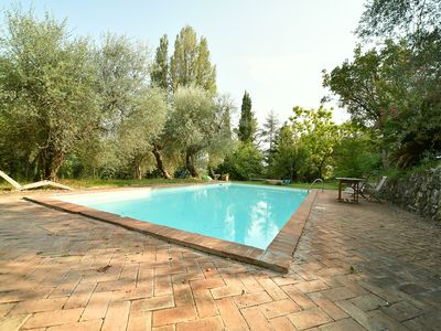 Photo for Historic Farmhouse - Private Pool, A/c, WiFi, Ideal for visiting Rome-Siena