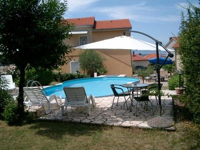 Photo for Holiday apartment Malinska for 2 persons with 1 bedroom - Holiday apartment in one or multi-family h