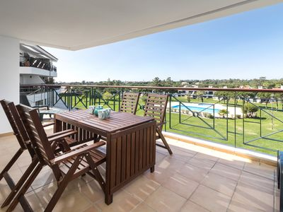 Photo for Modern Two Bedroom Family Apartment in Vila Sol Resort, Quarteira, Algarve