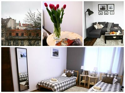 Photo for Cozy, Bright, Romantic 2BE/1.5BA Apartment with Castle View