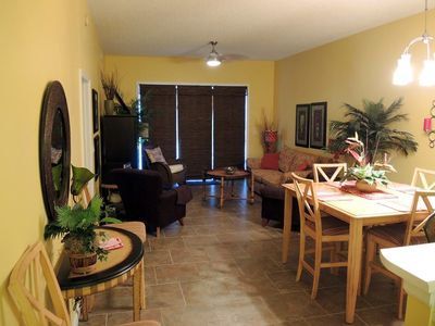 Professionally Decorated Living Room w/Foldout Couch & Balcony Access