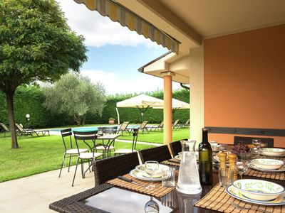 Photo for Luring Villa in Tuscany hills with Barbecue