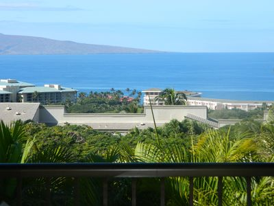 Photo for Ocean View, Air Conditioned, 2 level Wailea Townhouse