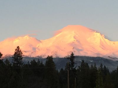 Alpenglow from front yard
