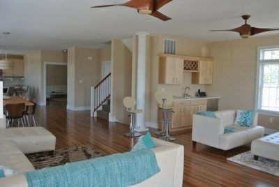 2nd floor main living area with all high-end furnishings.  Relax in style