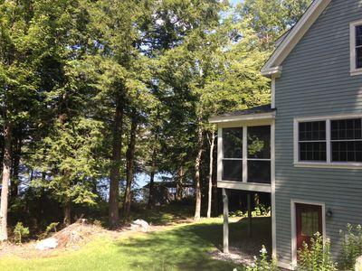 Lake Sunapee from side of home