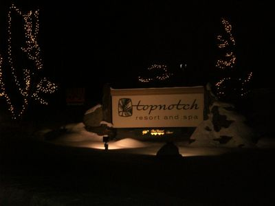 Entrance to Topnotch Resort & Spa Condo 464