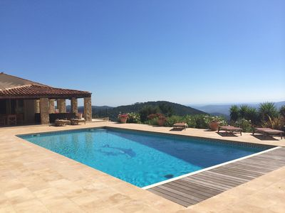 Photo for Gated Luxury 7 bed Villa, Large Private Pool, Multi Use Court and Stunning Views