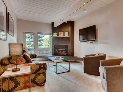 Photo for Cozy Condo, Hot Tubs & Private Balcony, Great Location for Summer Biking